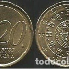 Euros: PORTUGAL 2015 - 20 CENT - CIRCULADA EBC+. Lote 178155050
