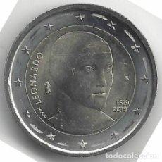 Euros: 2 EUROS ITALIA 2019 500 ANIV. MUERTE LEONARDO DA VINCI. Lote 178291108