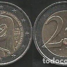 Euros: FRANCIA 2017 CONMEMORATIVA - 2 EURO - CIRCULADA EBC. Lote 178351852