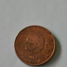 Euros: MONEDA BELGICA 2 CENTIMOS EURO AÑO 2013.. Lote 178356501