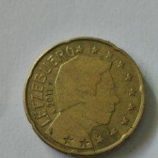 Euros: MONEDA LUXEMBURGO 20 CENTIMOS EURO 2011.. Lote 178357432