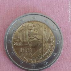 Euros: MONEDA CONMEMORATIVA DE 2€ AUSTRIA 2018. VER FOTO. Lote 179028020