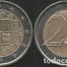 Euros: ANDORRA 2014 - 2 EURO - CIRCULADA EBC. Lote 179200567