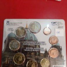 Euros: 2017 ESPAÑA WORD MONTE FAIR EUROS 2.000 EJEMPLARES. Lote 179537041