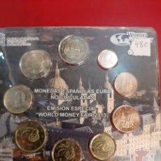 Euros: 2013 WORLD MONEY FAIR ESPAÑA ALEMANIA 2.500 EJEMPLARES. Lote 179537826