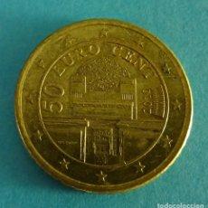 Euros: AUSTRIA 50 CÉNTIMOS DE EURO 2010. Lote 180015241