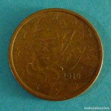 Euros: FRANCIA 5 CÉNTIMOS DE EURO 2010. Lote 180016003