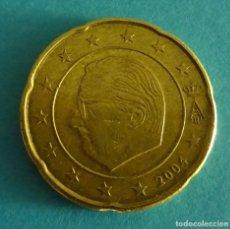 Euros: BÉLGICA 20 CÉNTIMOS DE EURO 2004. Lote 180016373