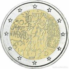 Euros: ALEMANIA 2019 2€ 30 AÑOS DE LA CAÍDA DEL MURO DE BERLÍN. Lote 180188131