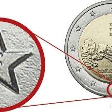 Euros: 2 EUROS MALTA 2019 TA'HAGRAT 2019 CECA F SC. Lote 180423350