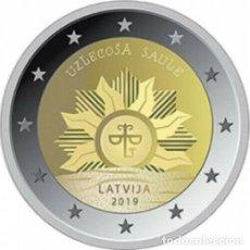 Euros: LETONIA 2019 2€. Lote 181618163