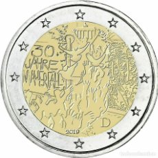 Euros: ALEMANIA 2 EUROS 2019 30 AÑOS DE LA CAÍDA DEL MURO DE BERLÍN J. Lote 182003930