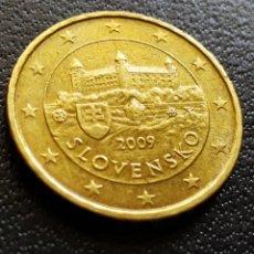 Euros: 10 CENTIMOS ESLOVAQUIA 2009. Lote 182300640