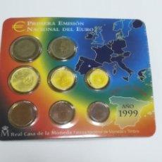 Euros: CARTERA ESPAÑA. PRIMERA EMISION DEL EURO. 1999. VER. Lote 182485920
