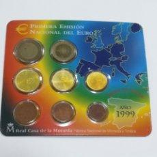 Euros: CARTERA ESPAÑA. PRIMERA EMISION DEL EURO. 1999. VER. Lote 278969748
