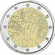 Euros: ALEMANIA 2 EUROS 2019 30 AÑOS DE LA CAÍDA DEL MURO DE BERLÍN A. Lote 182575361