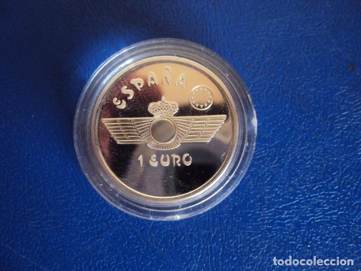 Euros: (MO-191100)HOMENAJE A LA AVIACIÓN ESPAÑOLA FNMT 1997. TRES VALORES PLATA DE, 1, 5 Y 25 EUROS. - Foto 8 - 182866850