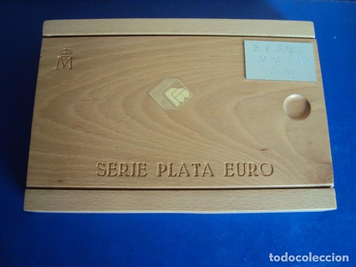 Euros: (MO-191100)HOMENAJE A LA AVIACIÓN ESPAÑOLA FNMT 1997. TRES VALORES PLATA DE, 1, 5 Y 25 EUROS. - Foto 9 - 182866850