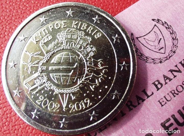 CHIPRE 2 EUROS 2012 CONM. TYE - SIN CIRCULAR - (Numismática - España Modernas y Contemporáneas - Ecus y Euros)