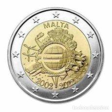 Euros: MALTA 2 EUROS 2012 CONM. TYE - SIN CIRCULAR - . Lote 182871605