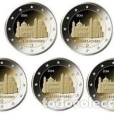 Euros: ALEMANIA 5 X 2 EUROS 2014 ADFGJ CONM. NIEDERSACHEN - SIN CIRCULAR -. Lote 182906997