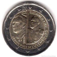 Euros: LUXEMBURGO 2 EUROS 2017 CONM. 200 ANIV. G.D. GUILLERMO III - SIN CIRCULAR - . Lote 182958366