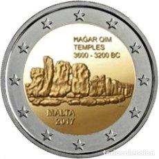 Euros: MALTA 2 EUROS 2017 CONM. TEMPLOS DE MAGAR QIM - SIN CIRCULAR - . Lote 182958523