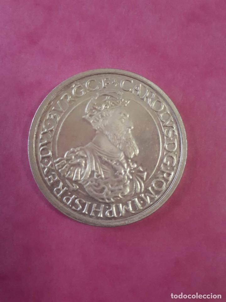 5 ECU PLATA 1987 BELGICA CARLOS V (Numismática - España Modernas y Contemporáneas - Ecus y Euros)