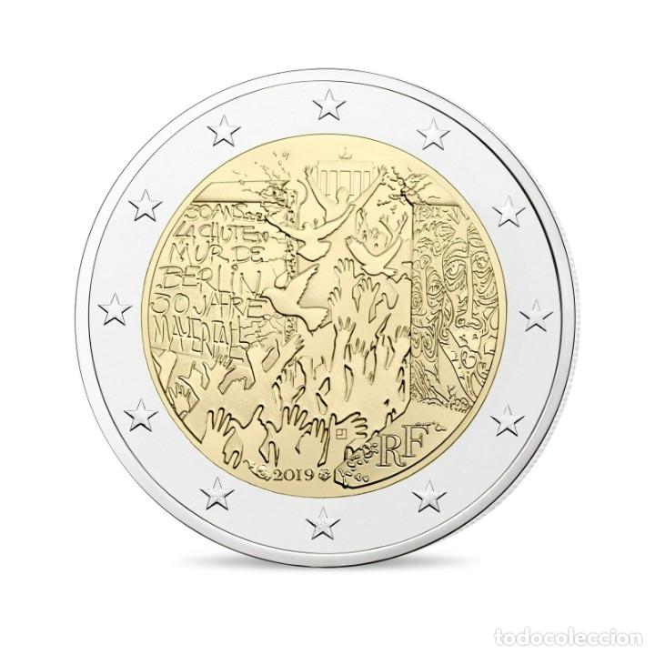 FRANCIA 2 EUROS 2019 CONM. 30 AÑOS CAIDA MURO DE BERLÍN - SIN CIRCULAR - (Numismática - España Modernas y Contemporáneas - Ecus y Euros)