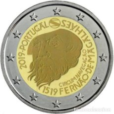 Euros: PORTUGAL 2 EUROS 2019 CONM. FERNANDO MAGALLANES - SIN CIRCULAR - . Lote 182990936