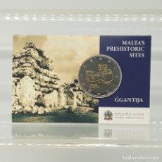 Euros: MALTA 2 EUROS 2016 CONM. CON MARCA DE CECA CORNUCOPIA MDP - EN COINCARD. Lote 183185073