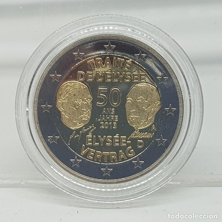 ALEMANIA 2 EUROS 2013 PROOF - CONM. TRATADO DEL ELYSEO (Numismática - España Modernas y Contemporáneas - Ecus y Euros)