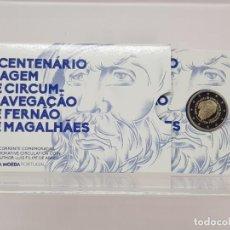 Euros: PORTUGAL 2 E. 2019 - PROOF - CONM. MAGALLANES - EN COINCARD -. Lote 183405866