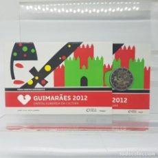 Euros: PORTUGAL 2 E. 2012 - CONMEMORATIVA GUIMARAES 2012 PROOF - EN COINCARD. Lote 183406938