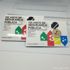 Euros: PORTUGAL 2 E. 2017 - CONMEMORATIVA SEGURIDAD NACIONAL PROOF - EN COINCARD. Lote 183407401
