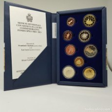 Euros: SAN MARINO ESTUCHE 2013 PROOF - 9 VALORES - INCLUYE PINTURICCHIO EN PROOF. Lote 183407865