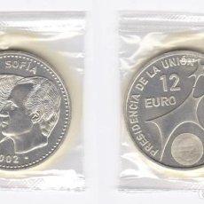 Euros: JUAN CARLOS I. 12 EUROS. 2002. Lote 183526141