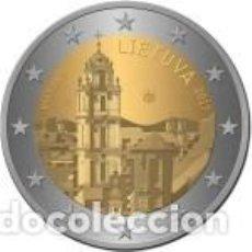 Euros: LITUANIA 2017 2 EUROS. VILNA, CAPITAL CULTURAL Y ARTÍSTICA DEL ESTADO. S/C. Lote 184173515