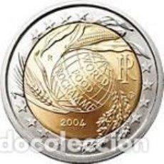 Euros: ITALIA 2004 2 EUROS. 50º ANIVERSARIO DEL PROGRAMA MUNDIAL DE ALIMENTOS. S/C. Lote 184206178