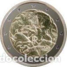 Euros: ITALIA 2008 2 EUROS. 60º ANIVERSARIO DE LA DECLARACIÓN UNIVERSAL DE LOS DERECHOS HUMANOS. Lote 184209035