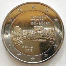 Euros: MALTA 2019 2 EUROS CONMEMORATIVOS TA HAGRAT MARCA DE CECA F. Lote 184672233
