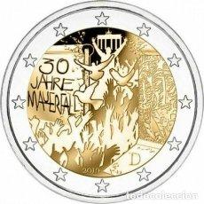 Euros: ALEMANIA 2019 MURO BERLIN 2 EUROS CONMEMORATIVOS CECA D. Lote 184673592