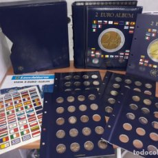 Euros: ALBUM DE MONEDAS DE 2 EUROS CONMEMORATIVAS (CONTIENE 60 MONEDAS DE 2 EUROS CONMEMORATIVAS). Lote 184696078