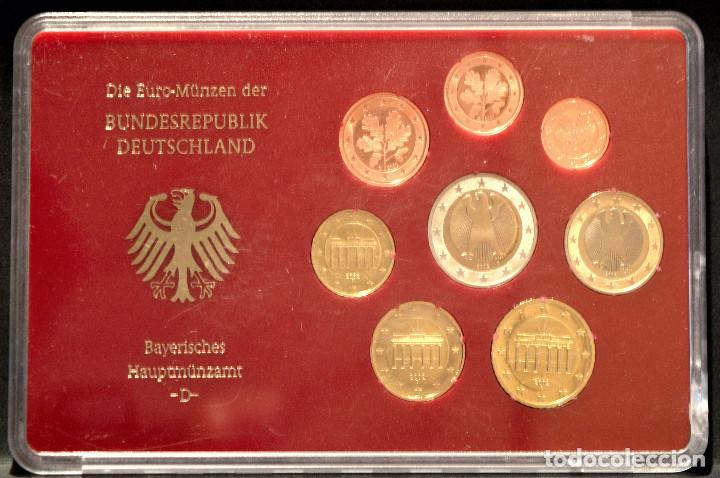 Euros: EUROSET EUROS ALEMANIA LAS 5 CECAS EN ESTUCHES EURO 2002 - Foto 4 - 103747403