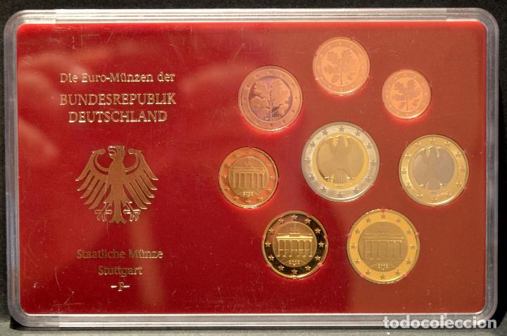 Euros: EUROSET EUROS ALEMANIA LAS 5 CECAS EN ESTUCHES EURO 2002 - Foto 6 - 103747403