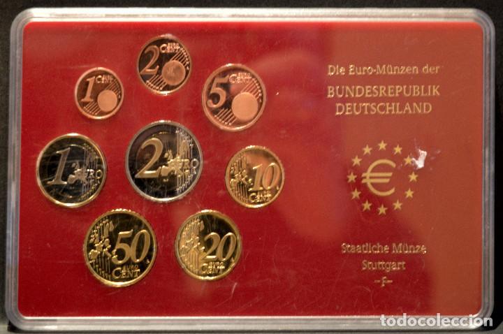 Euros: EUROSET EUROS ALEMANIA LAS 5 CECAS EN ESTUCHES EURO 2002 - Foto 7 - 103747403