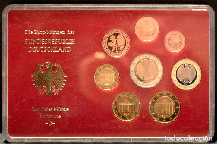 Euros: EUROSET EUROS ALEMANIA LAS 5 CECAS EN ESTUCHES EURO 2002 - Foto 8 - 103747403
