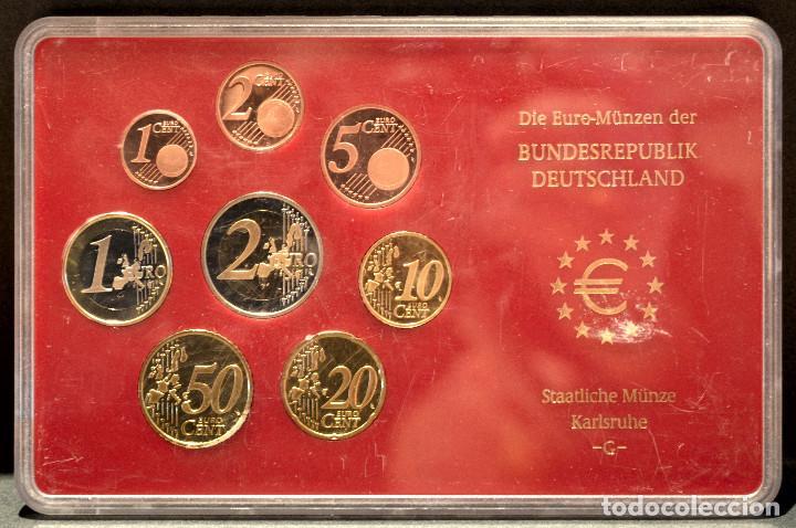 Euros: EUROSET EUROS ALEMANIA LAS 5 CECAS EN ESTUCHES EURO 2002 - Foto 9 - 103747403