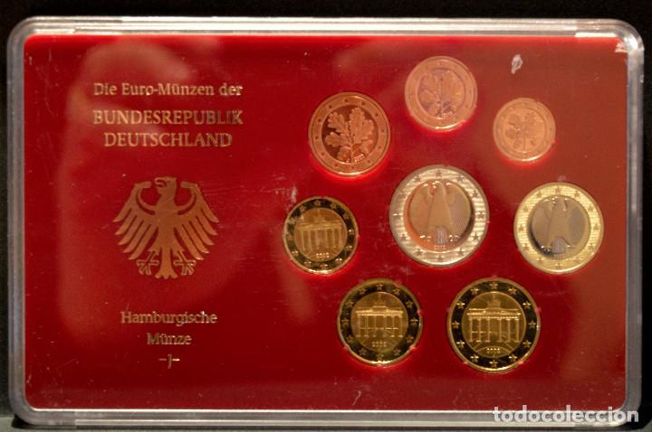 Euros: EUROSET EUROS ALEMANIA LAS 5 CECAS EN ESTUCHES EURO 2002 - Foto 10 - 103747403