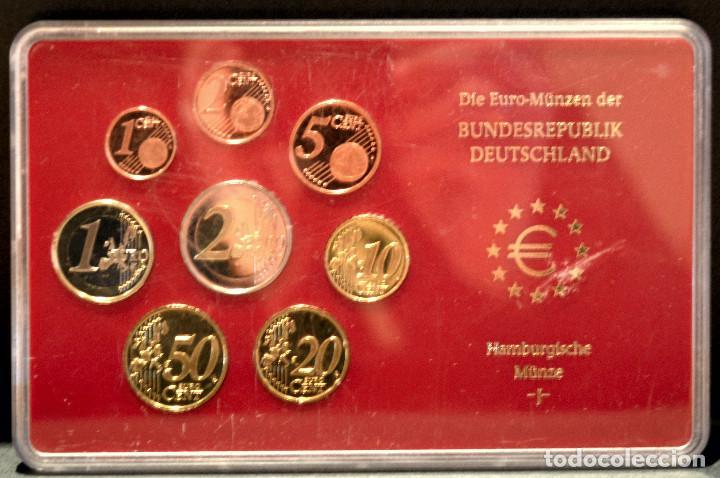 Euros: EUROSET EUROS ALEMANIA LAS 5 CECAS EN ESTUCHES EURO 2002 - Foto 11 - 103747403